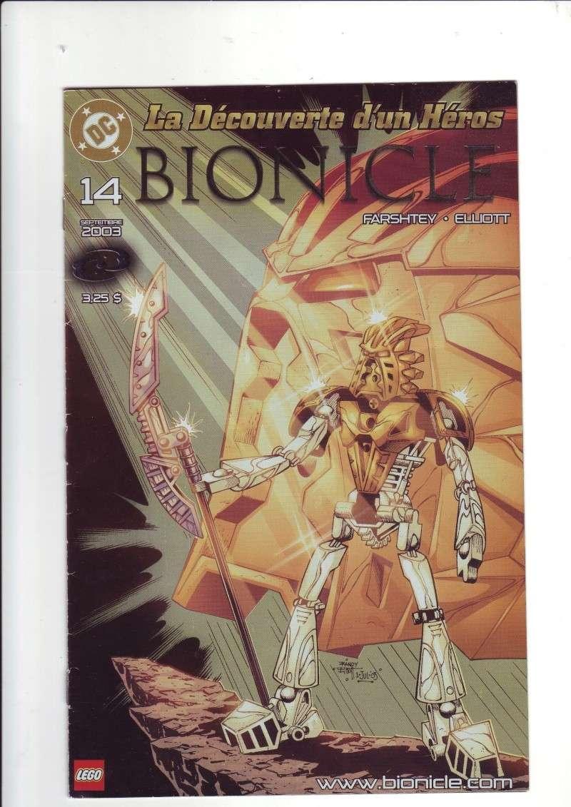 [Comics] VF des BD Bionicle : N°14 La découverte d'un héros Save0061
