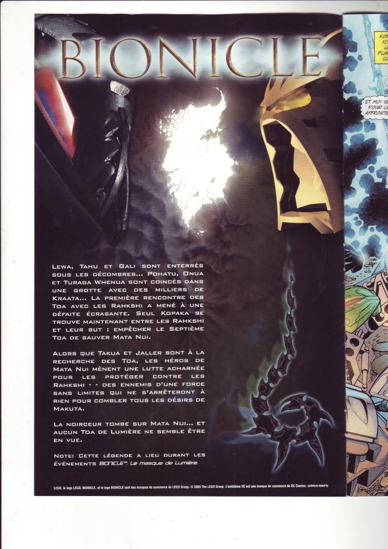 [Comics] VF des BD Bionicle : N°14 La découverte d'un héros Save0063
