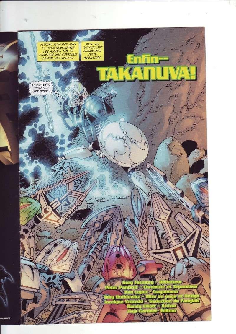 [Comics] VF des BD Bionicle : N°14 La découverte d'un héros Save0064