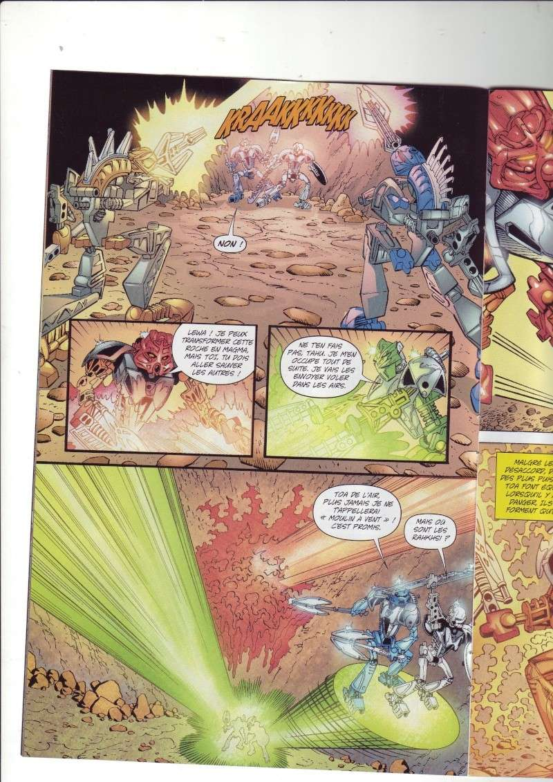 [Comics] VF des BD Bionicle : N°14 La découverte d'un héros Save0069