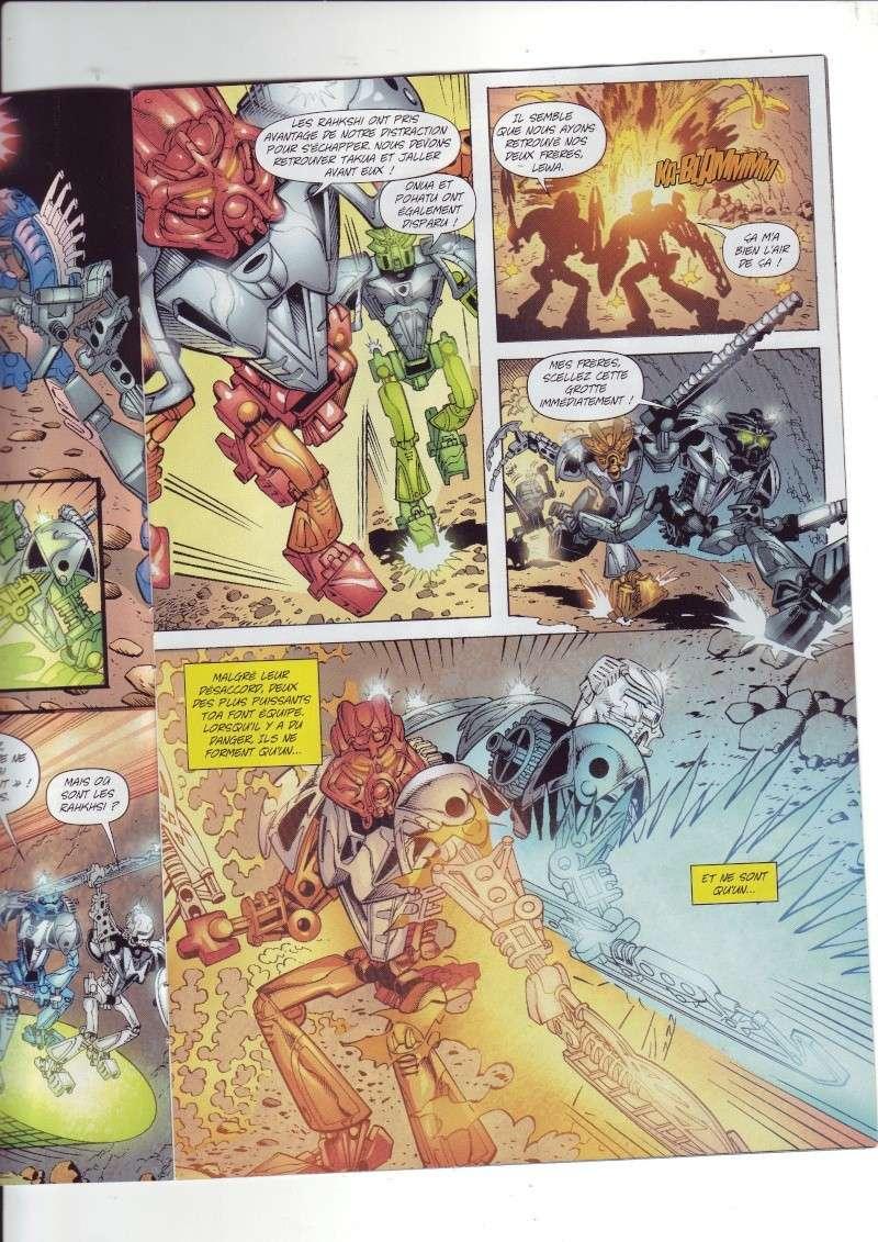 [Comics] VF des BD Bionicle : N°14 La découverte d'un héros Save0070
