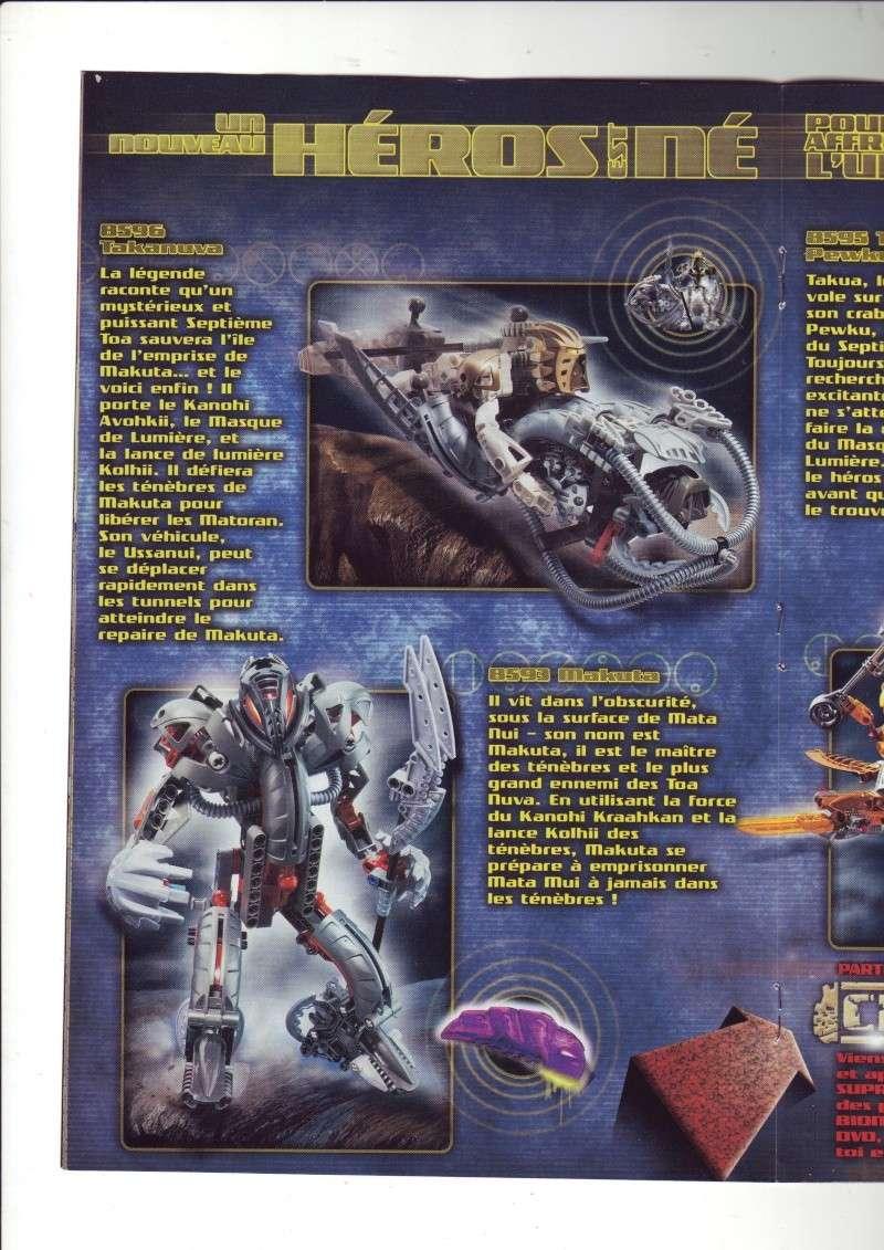 [Comics] VF des BD Bionicle : N°14 La découverte d'un héros Save0071