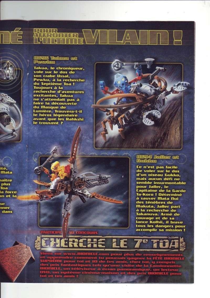 [Comics] VF des BD Bionicle : N°14 La découverte d'un héros Save0072