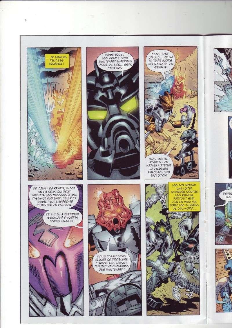 [Comics] VF des BD Bionicle : N°14 La découverte d'un héros Save0073