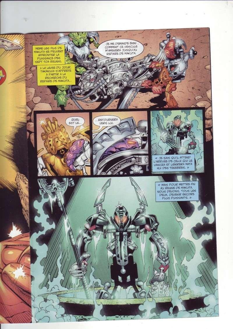 [Comics] VF des BD Bionicle : N°14 La découverte d'un héros Save0076