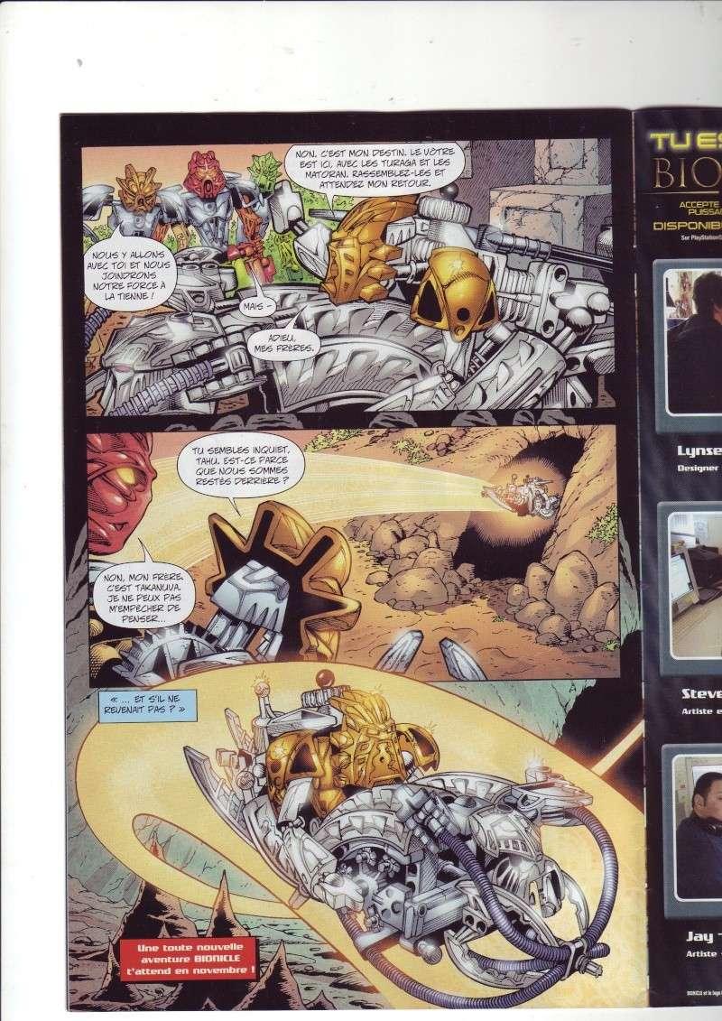 [Comics] VF des BD Bionicle : N°14 La découverte d'un héros Save0077