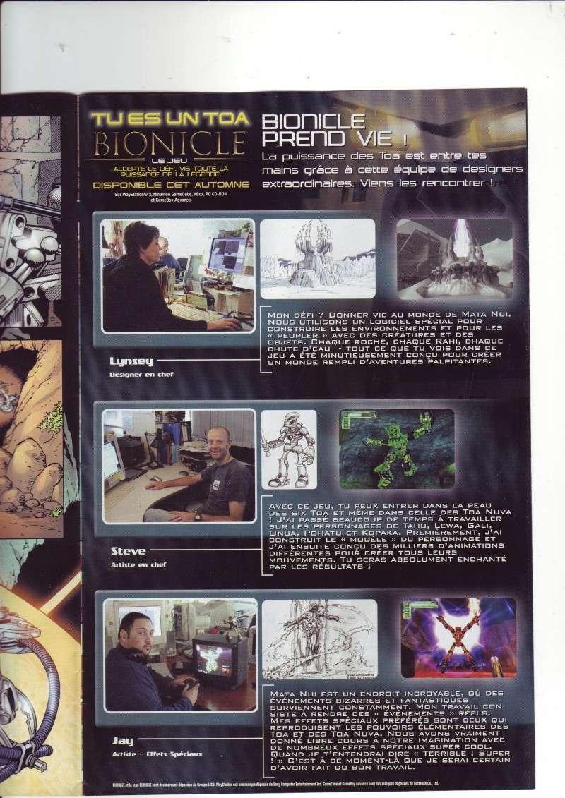 [Comics] VF des BD Bionicle : N°14 La découverte d'un héros Save0078