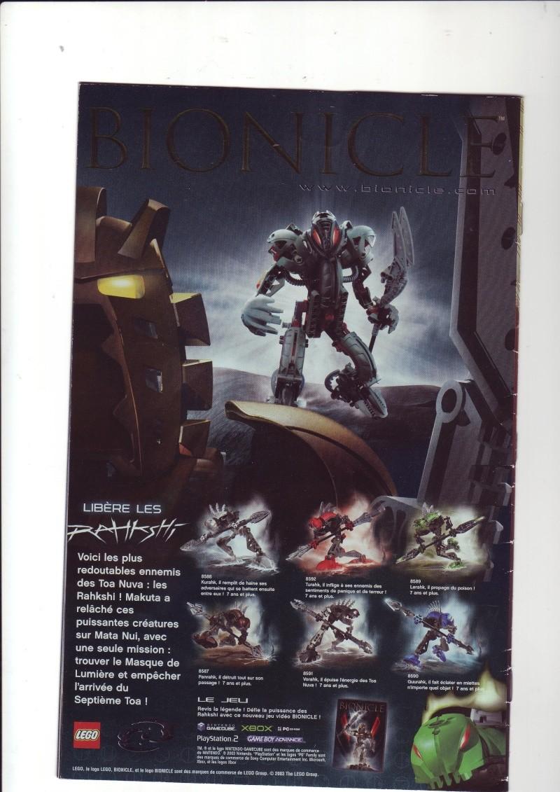 [Comics] VF des BD Bionicle : N°14 La découverte d'un héros Save0080