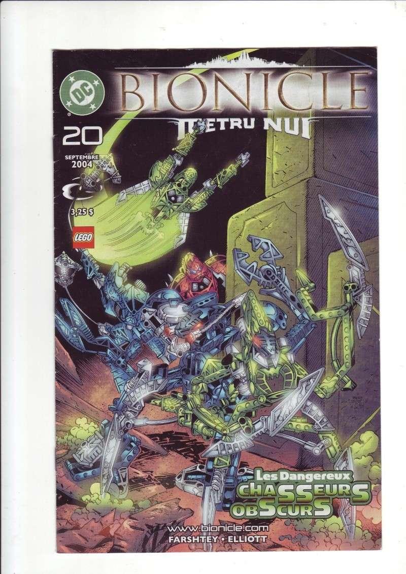 [Comics] VF des BD Bionicle : Les dangereux chasseurs obscurs N°20 Save0226