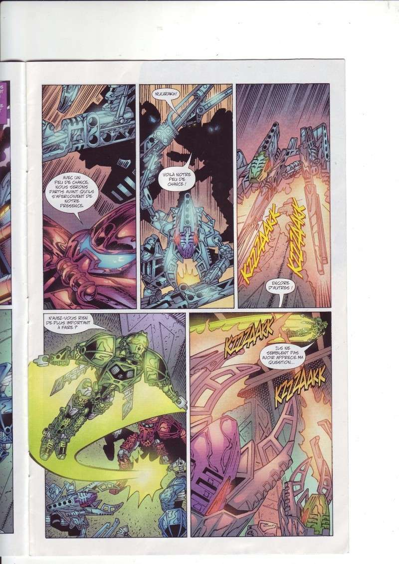[Comics] VF des BD Bionicle : Les dangereux chasseurs obscurs N°20 Save0231
