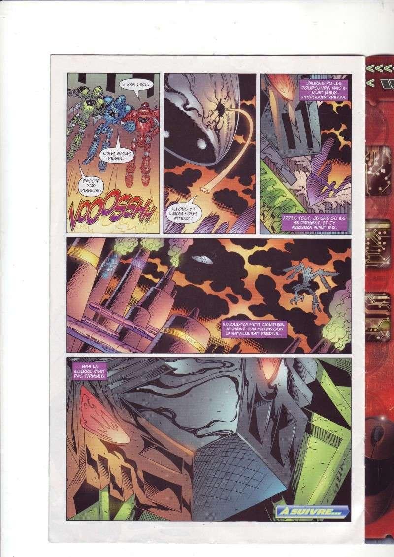 [Comics] VF des BD Bionicle : Les dangereux chasseurs obscurs N°20 Save0240