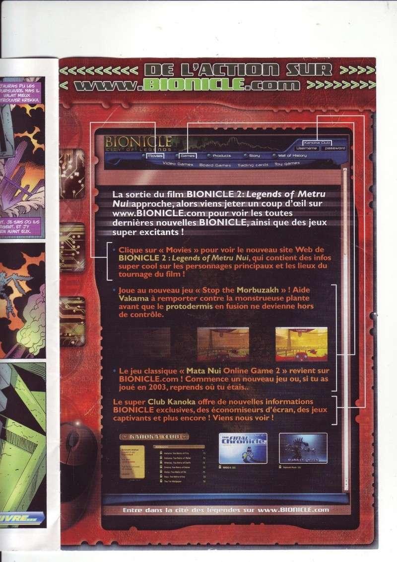 [Comics] VF des BD Bionicle : Les dangereux chasseurs obscurs N°20 Save0241
