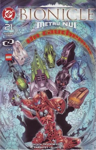 [Comics] VF des BD Bionicle : Un cauchemar N°21 Save0245
