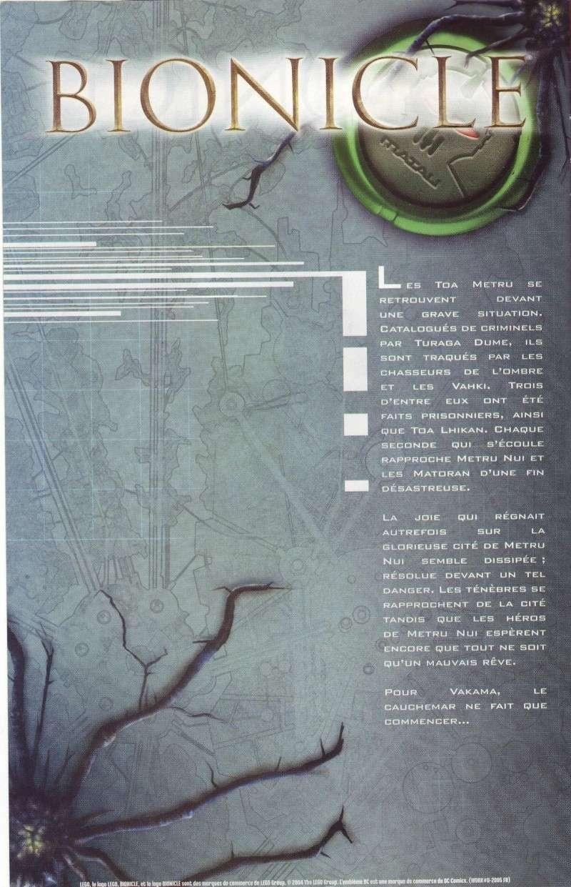 [Comics] VF des BD Bionicle : Un cauchemar N°21 Save0246