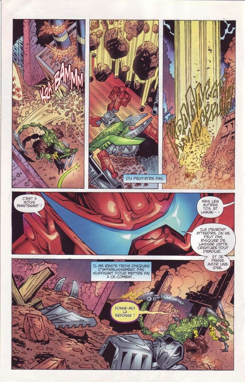 [Comics] VF des BD Bionicle : Un cauchemar N°21 Save0256