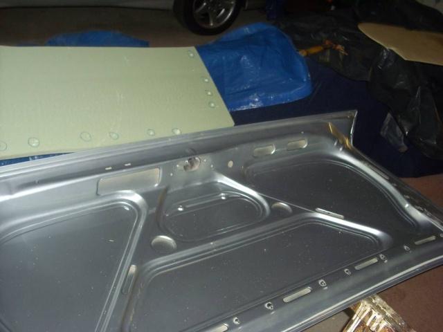 Umbau Kofferraumdeckel Ascona C B410