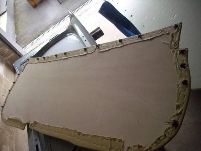 Umbau Kofferraumdeckel Ascona C B510