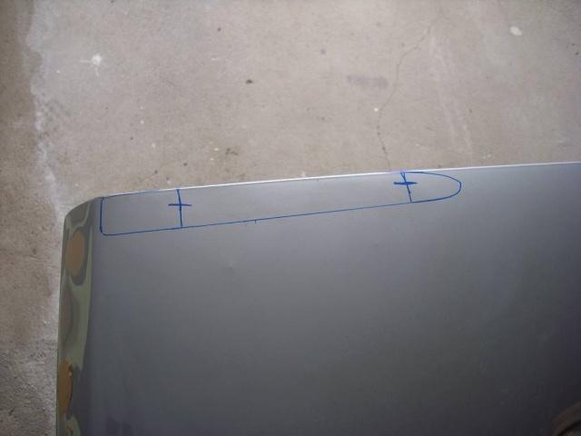 Umbau Kofferraumdeckel Ascona C C210