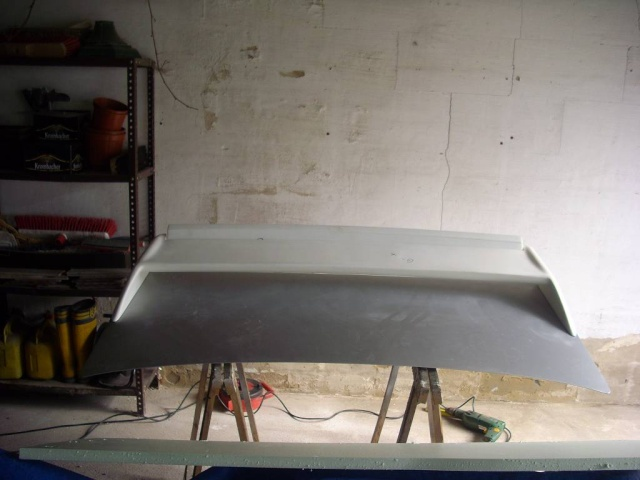 Umbau Kofferraumdeckel Ascona C C410