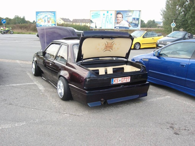 Umbau Kofferraumdeckel Ascona C E810