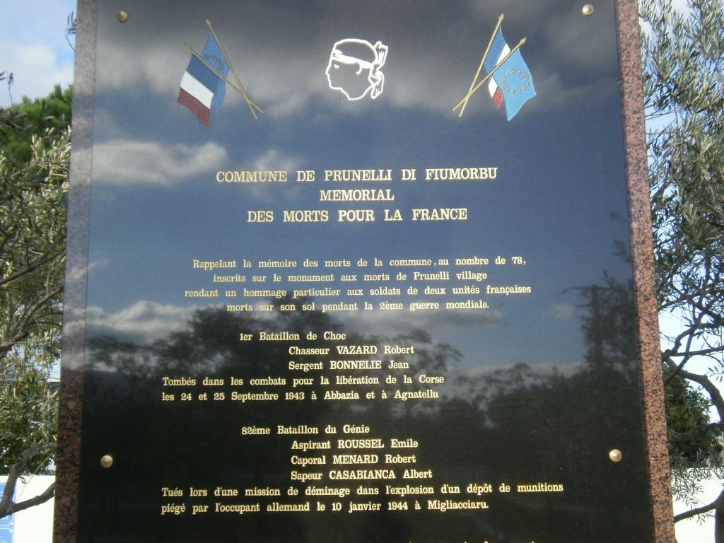 tombes btn-choc carre militaire du cimetière de bastia C10