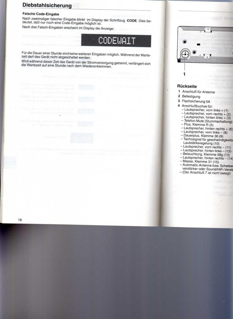 [BMW 330 da E46] Programmer le code sur autoradio business Bmw33310