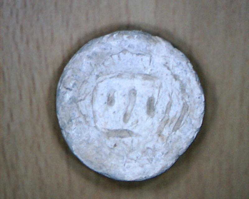 """matrice de sceau : """"les fetes folles XIII-XIV Image511"""