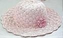 Летние вязанные шапочки,  шляпки и косынки 125