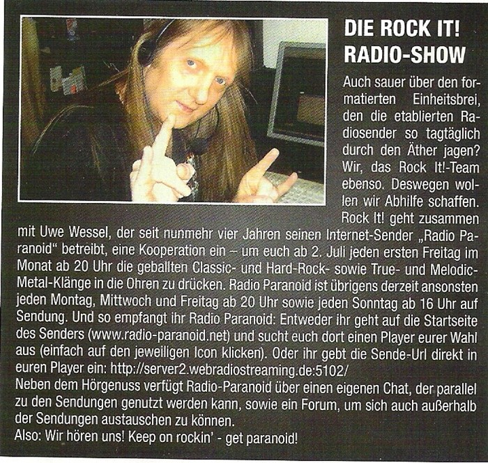 Zusammenarbeit mit dem ROCK IT! Magazin! Rock_i10