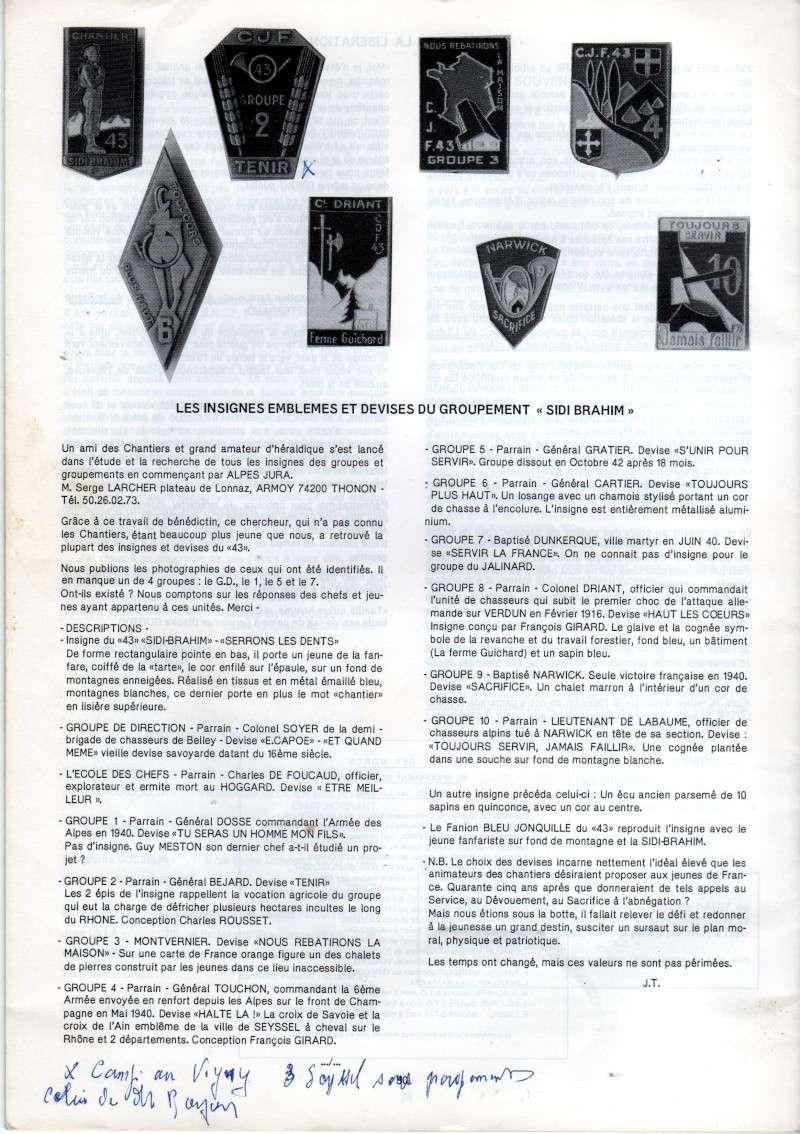 chantier de jeunesses - Chantier de Jeunesse Français 43 / CJF-43 Img67810