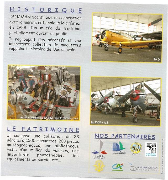 [ Les Musées en rapport avec la Marine ] Musée de l'Aeronautique Navale de Rochefort Numari22