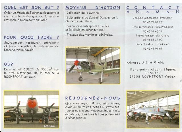 [ Les Musées en rapport avec la Marine ] Musée de l'Aeronautique Navale de Rochefort Numari23