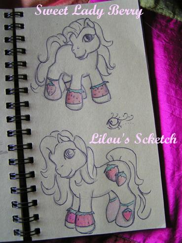 Lilou's Custom Ponies & Autres =^..^= // NEWS P.17! Wildfire Scketc11
