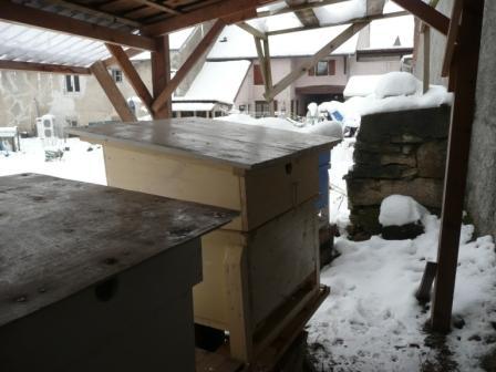 Isolation des ruches P1010311