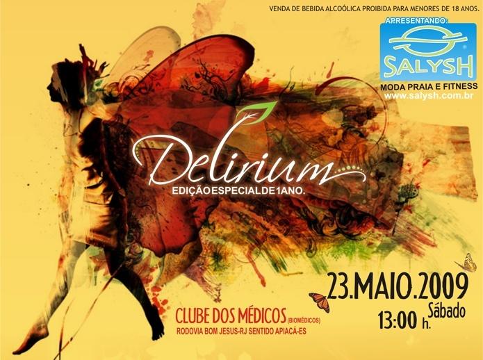 DELIRIUM EDIÇÃO ESPECIAL DE 1 ANO - 23 de MAIO 2009 Deliri13
