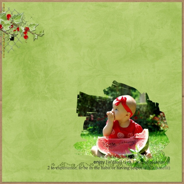 "Pour ""Tasty berry"" par stephinette Girl10"