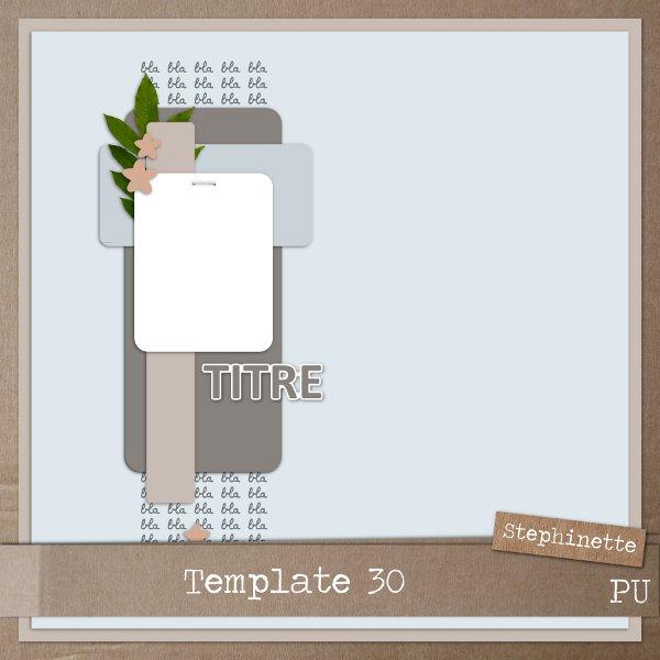 ~ Les freebies de Stephinette ~ - Page 3 Templa16