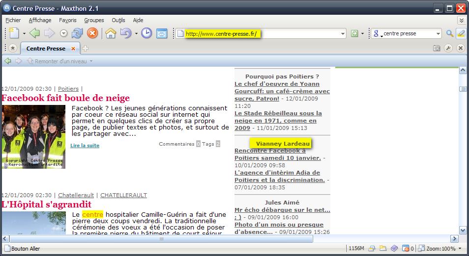 Le blog de Monsieur Vianney sur www.centrepresse.fr Vl10