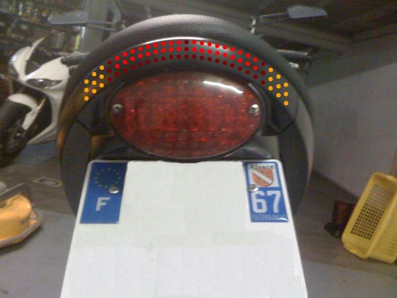 Kronenbuell Projet feux+clignos a led dans l'arrière court. Implan12