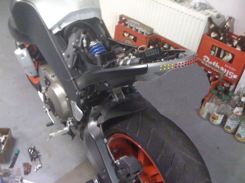 Kronenbuell Projet feux+clignos a led dans l'arrière court. Montag12