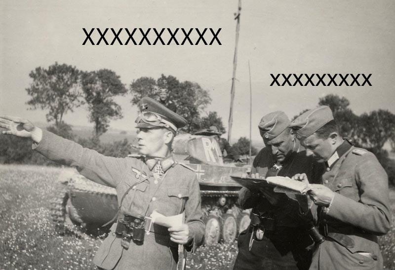 Panzerbefehlswagen III Ausf E de Rommel? Rommel13