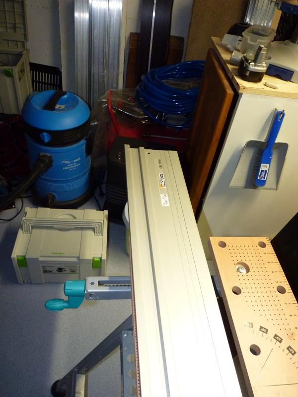 Adaptation d'un rail Protool sur scie Ryobi P1020710