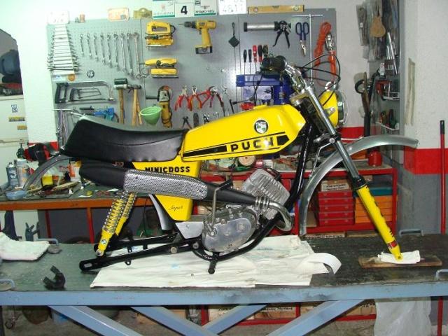 Puch Minicross Super * Juan Francisco Dsc03917