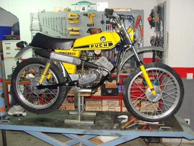 Puch Minicross Super * Juan Francisco Dsc04010