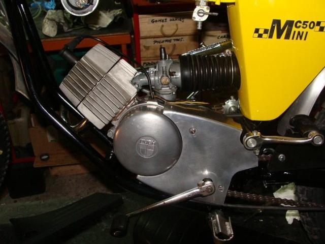 Puch MC50 especial 1ª Serie Motor_11