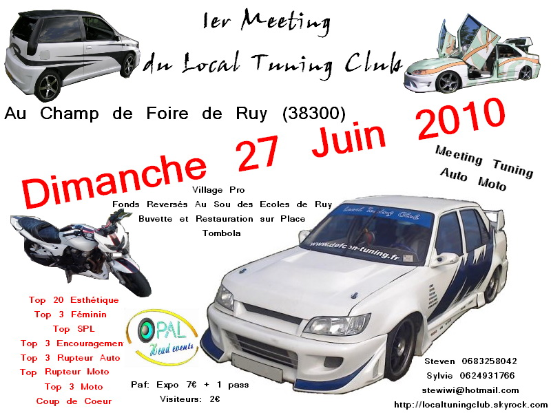 [27 Juin]1er meeting du local tuning club (38) Fly_st10