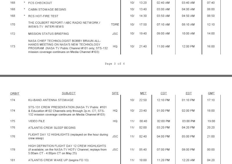 [STS-132] Atlantis : fil dédié à la mission - Page 14 Planni31