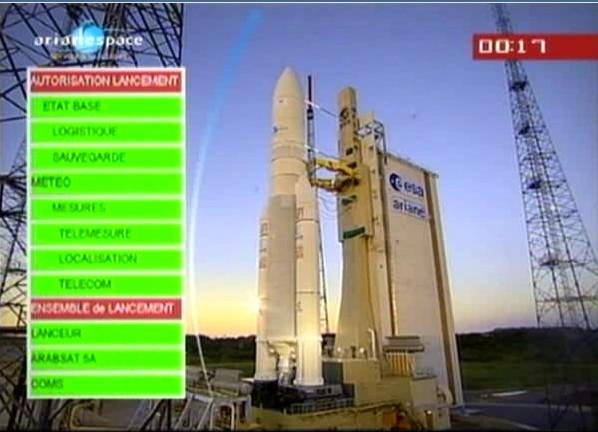Ariane 5 ECA V195 : Arabsat 5A + COMS 1 (26/06/2010) - Page 5 Sans_t89