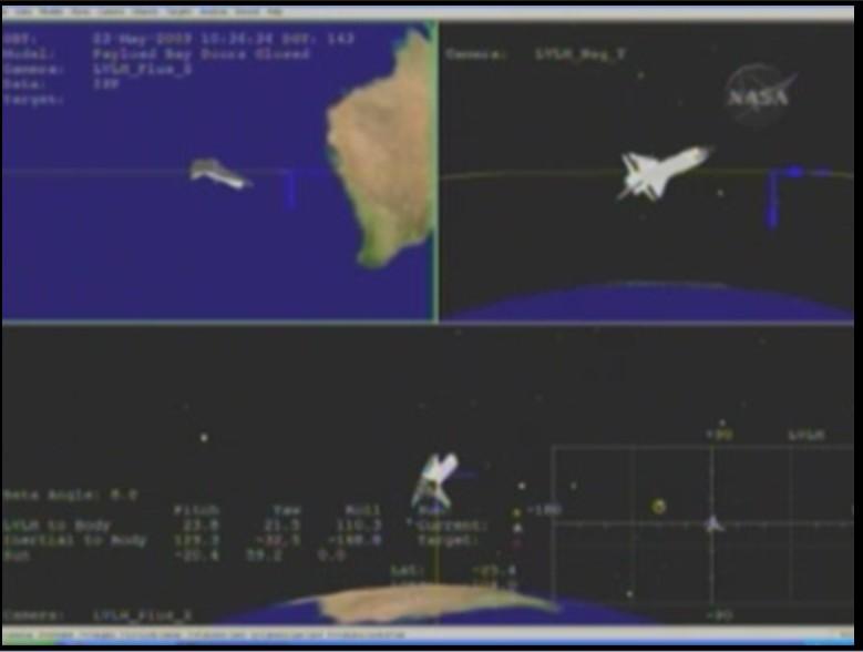 [STS 125 - Atlantis] : Retour sur Terre (dimanche 24 mai) - Page 3 Virage11