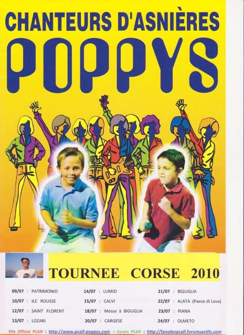 Publicité pour la prochaine Tournée Corse 2010 Affich12